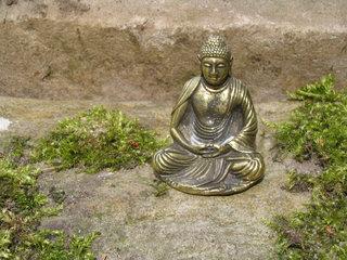 Boeddhas-miniatuur