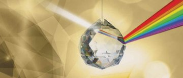 Regenboogkristal-Asfour