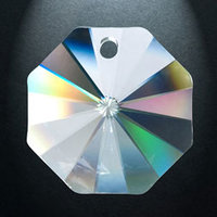 Regenboogkristal Octagon, 14 mm (100)