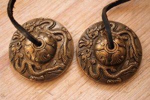 Tingsha (brons) -Draken