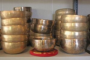 Klankschaal bengali diameter 13 t/m 15 cm
