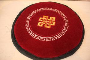 Klankschaalkussen plat, mandala, hindoe -21cm