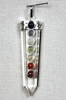 Hanger bergkristal 7 chakra's