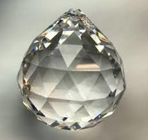 Regenboogkristal bol 40 mm. (20)