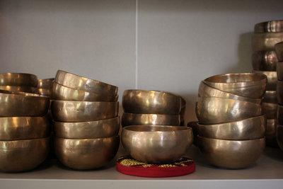 Klankschaal bengali diameter 10 t/m 12 cm