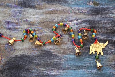 geluksbelkoord met olifant