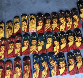 Boeddha paneeltje